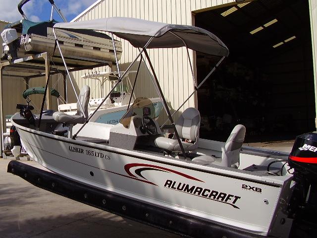 05 Alumacraft 16 5 Ltd Cs Boat For Sale