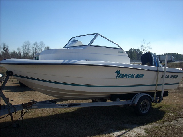 1988 Mako 220 Twin 1993 Johnson 120 HP $7000 View. 2000 Sea Pro 190 WA cuddy ...