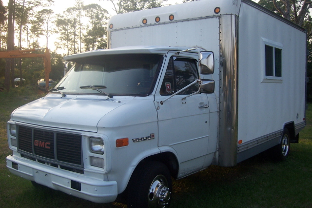 89 GMC Box Truck Camper RV For Sale