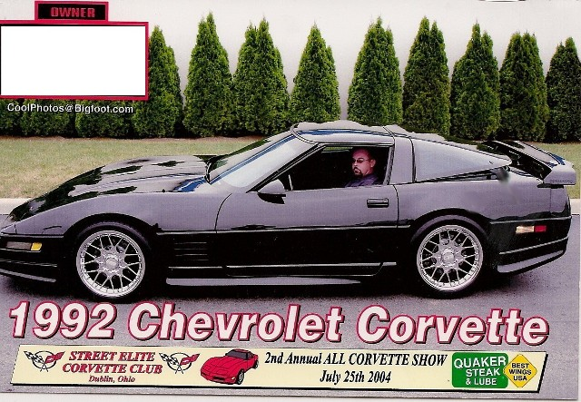 92 Chevy Corvette Coupe For Sale