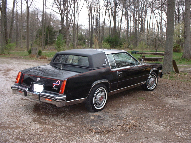 85 Cadillac Eldorado Biarritz For Sale