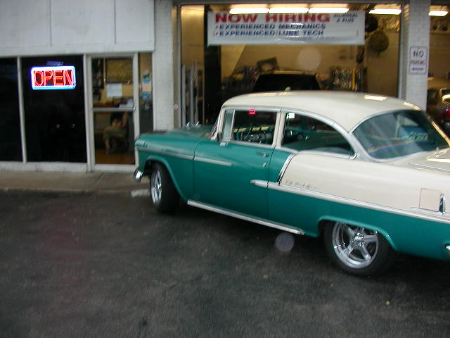 55 Chevy Belair For Sale