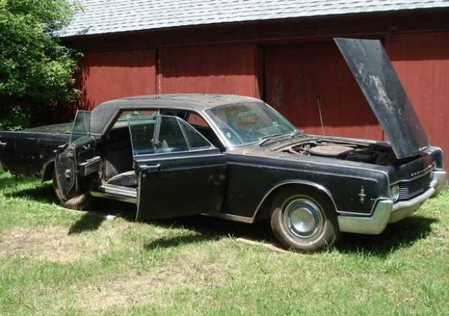 66 Lincoln Continental For Sale