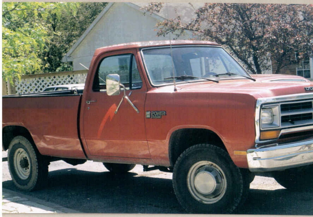 86 Dodge Ram 3/4 ton 4WD For Sale