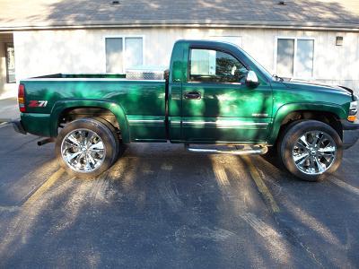 Make Model Chevy 1500 Color Green Year 1999 Mileage 147000 Price 6500 City Mattawan County Kalamazoo State Michigan
