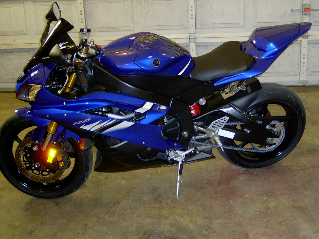 06 yamaha yzf r6 motorcycles for sale