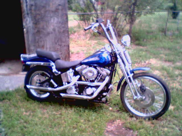 92 Harley Davidson FXSTS