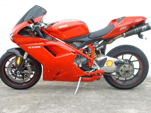 08 ducati 1098 motorcycles for sale