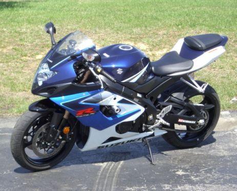 06 Suzuki GSX-R Motorcycles For Sale