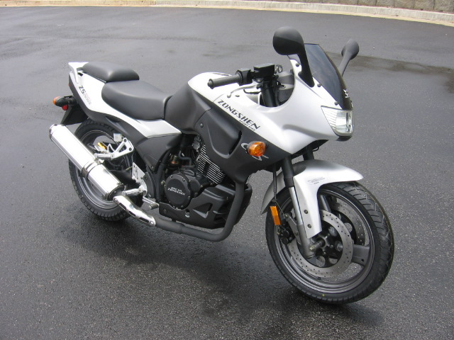 07 New Zongshen ZS250GS Sport Bike Motorcycles For Sale