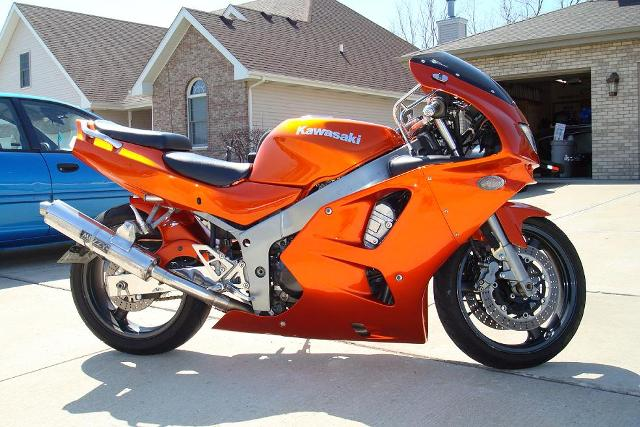 Make Model Kawasaki ZX6R Color Candy Orange Year 1995 Mileage 17000 Price 3800 City Manteno County USA State IL Nearest Major Kankakee
