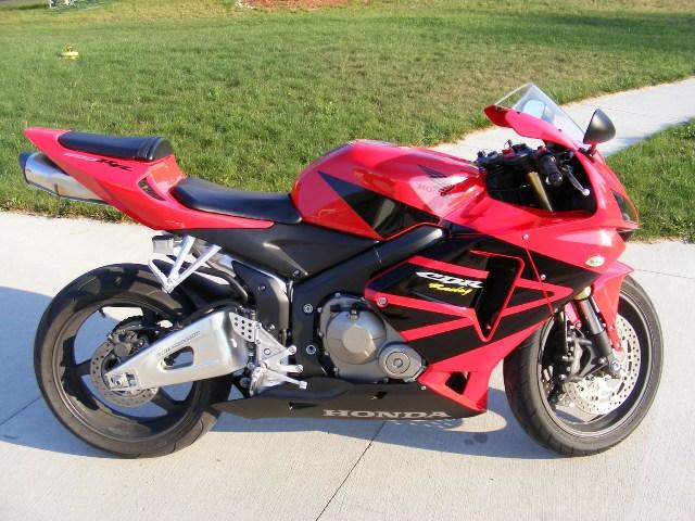06 Honda CBR 600 RR Motorcycles For Sale