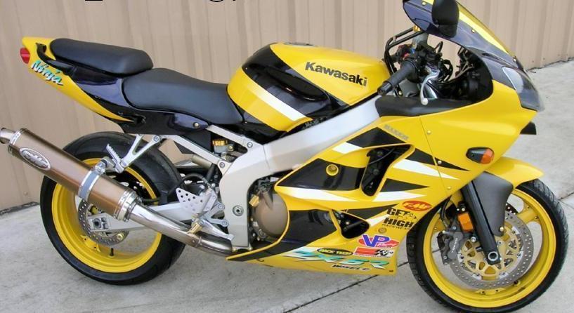 01 Kawasaki Ninja Zx6r Motorcycles For Sale