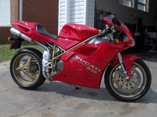 97 ducati 916 motorcycles for sale