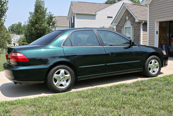 98 Honda Accord Ex Sedan V6 For Sale