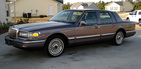 96 lincoln town car for sale. Black Bedroom Furniture Sets. Home Design Ideas