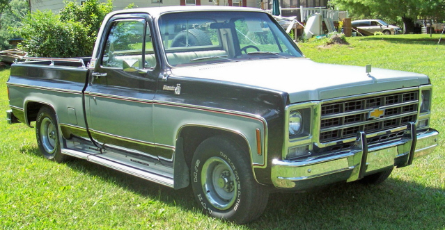 79 Chevrolet Silverado Pick up Truck For Sale