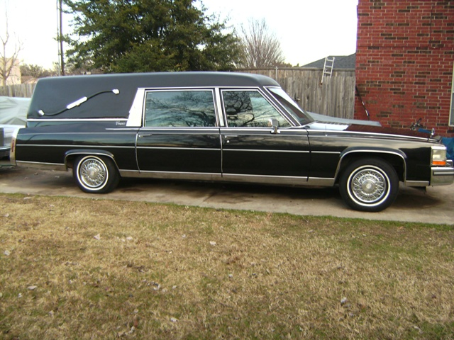 87 Cadillac Hearse For Sale